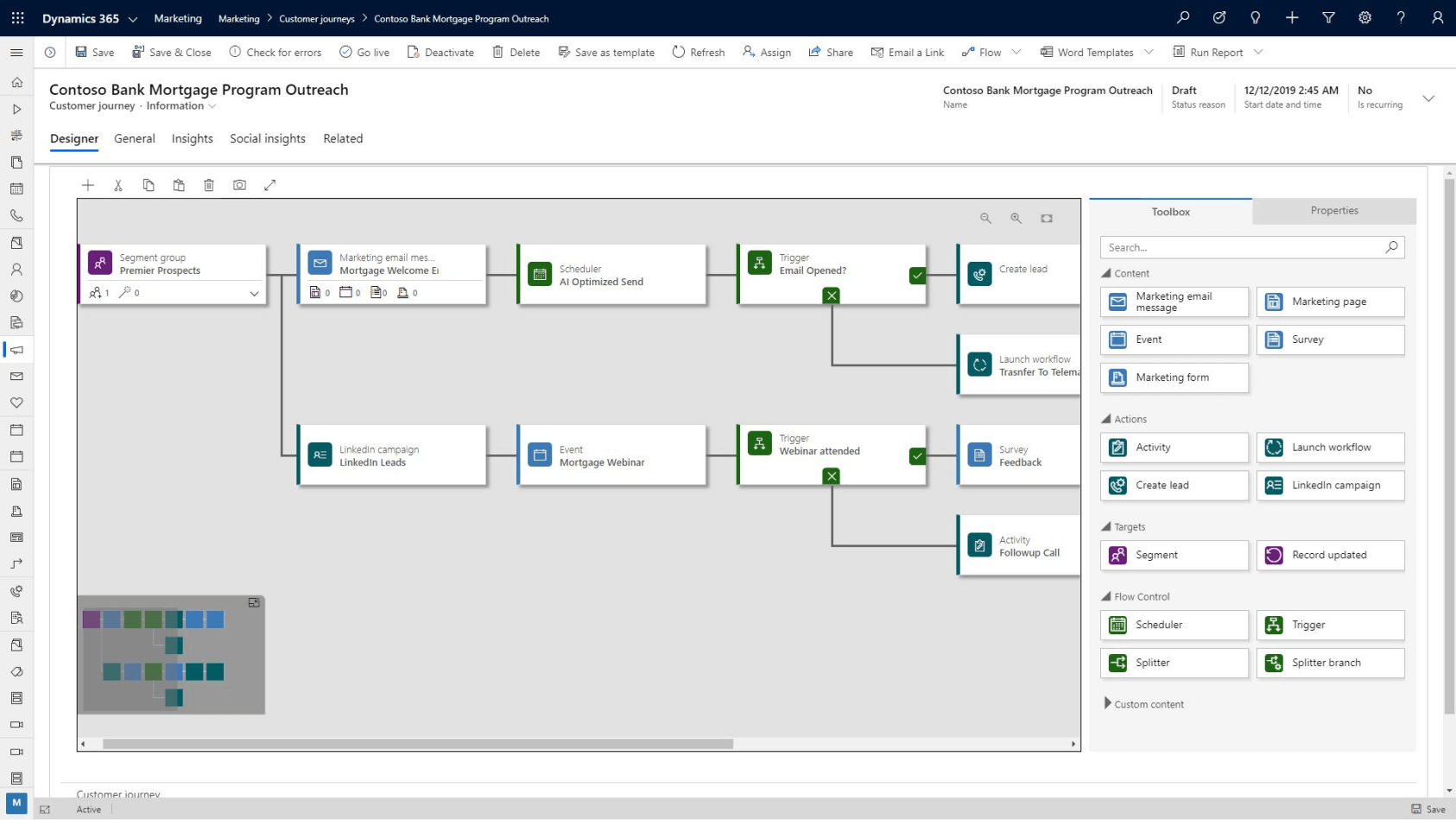 Personalise your buyer experiences with Microsoft Dynamics 365 Marketing and Microsoft Dynamics 365 Business Central. Azzure IT helps businesses work smarter and unify their processes with ERP.