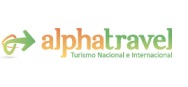 Logotipo de Alpha Travel